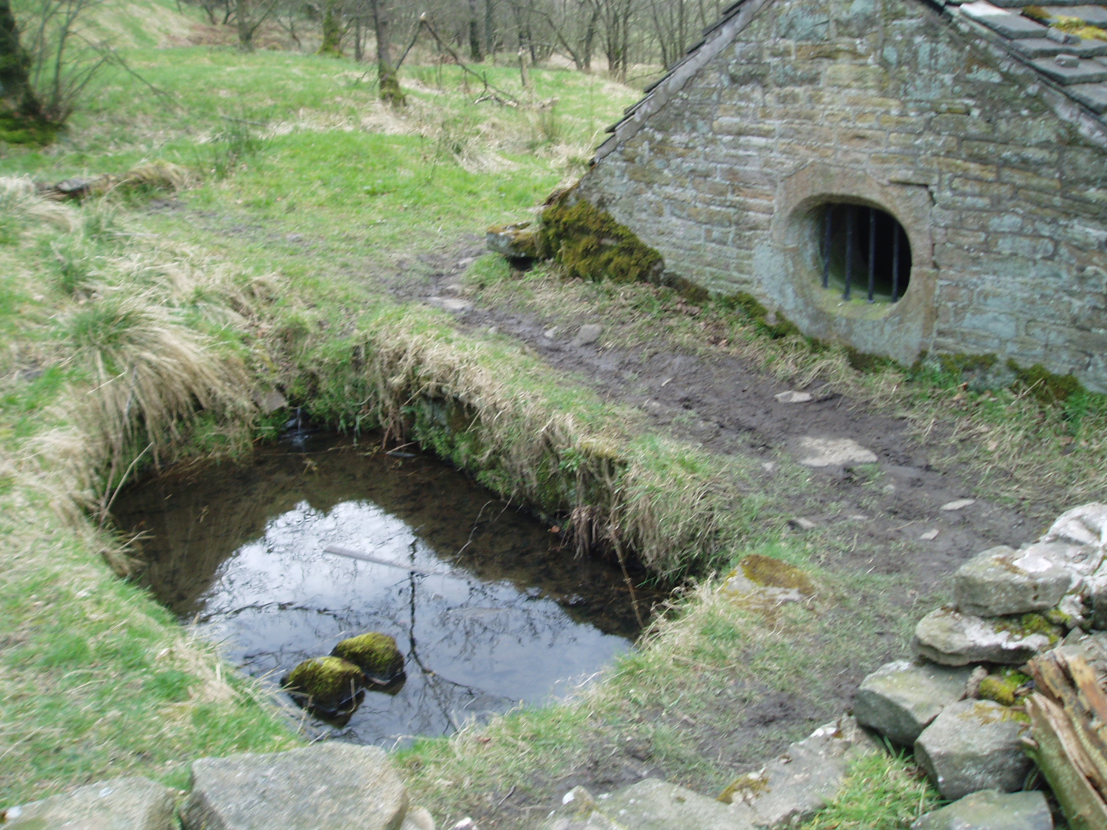 Holy Well Wishing Well Dairy Or Grotto The Mystery Behind Hollinhead S Holy Well