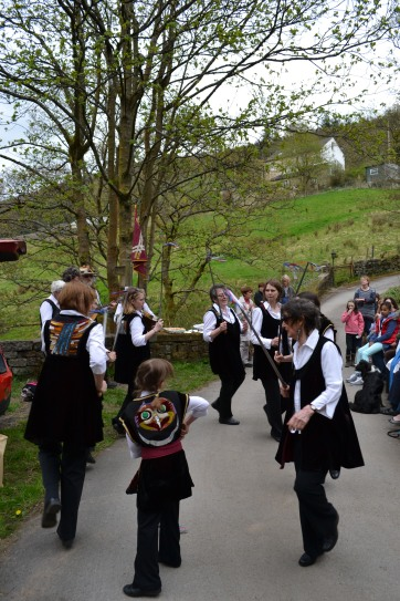 The sword dancers