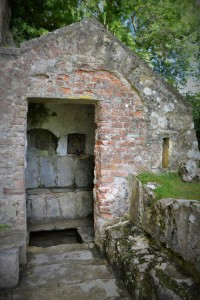 St Seriol's Well, Priory and dovecot Penmon Anglesey (158)